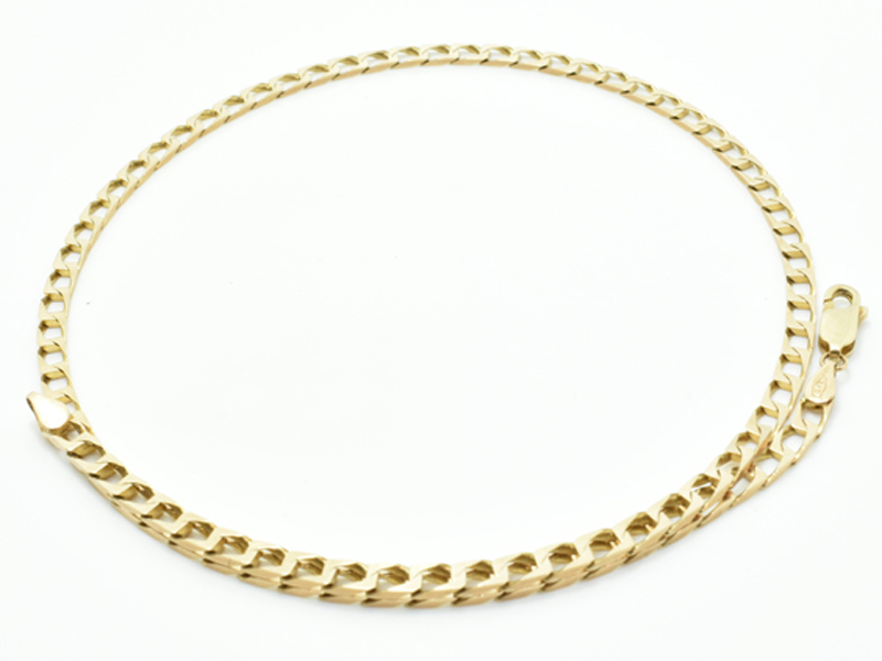 9ct Square Curb Chain 8.7g